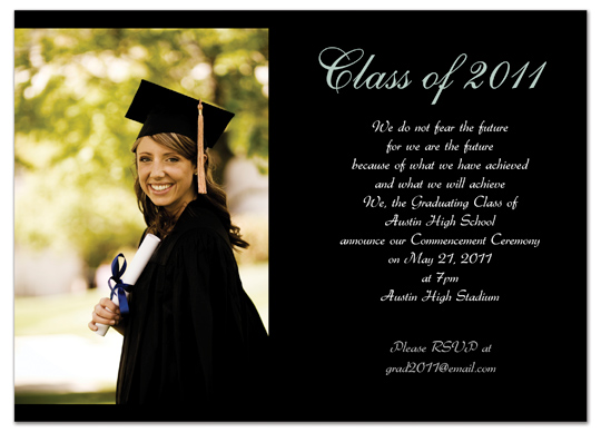 Graduation Invitation Examples for your inspiration to make invitation template look beautiful